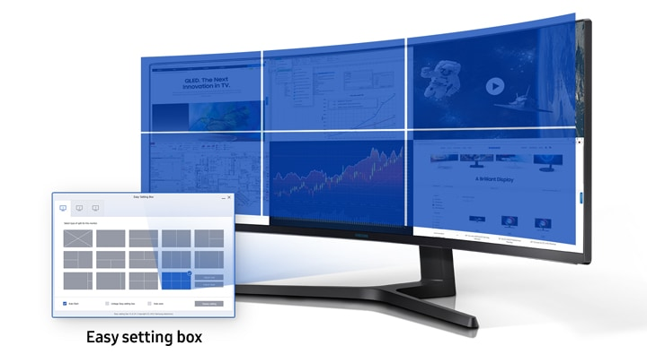 Easy Setting Box CJ89 Monitor