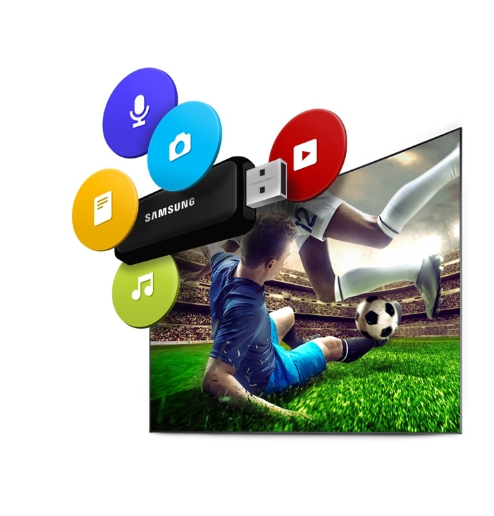 6-Series Curved FHD TV UE40K6300 USB