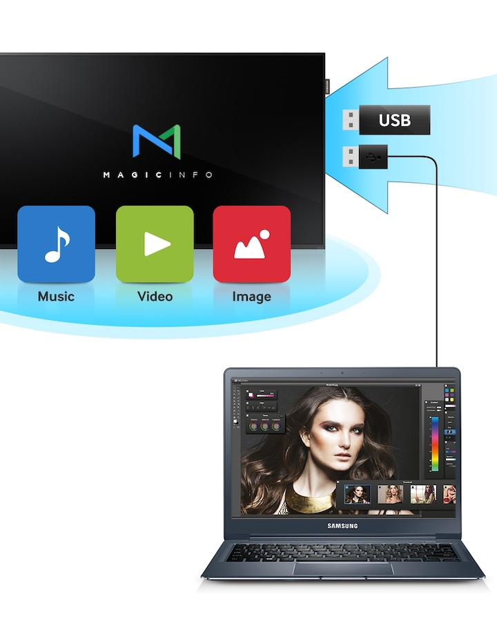 Samsung DCH Display MagicInfo Lite Player