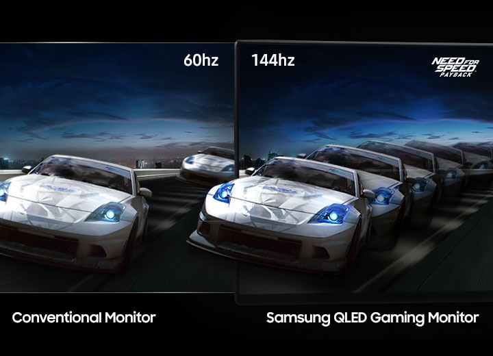UHD Curved Monitor Fast 144hz refresh rate