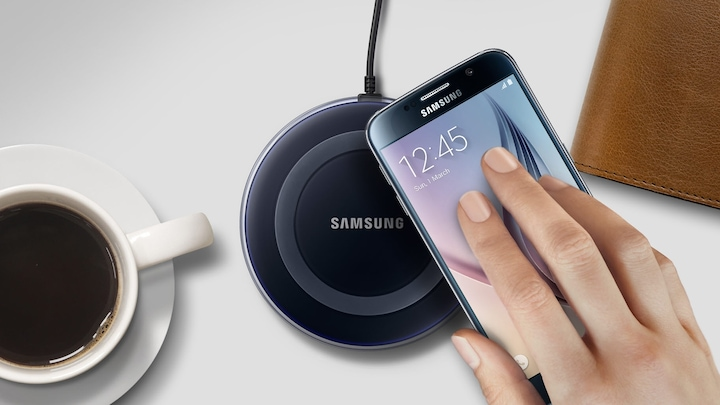Samsung Wireless Charger White - Moeiteloos opladen