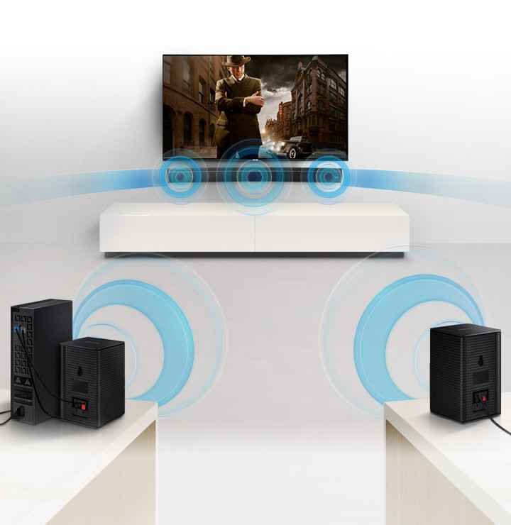 Soundbar Wireless Surround Sound Ready