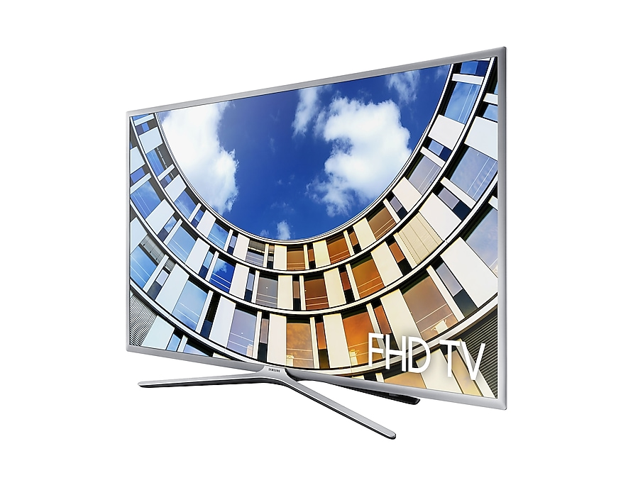 FHD TV UE43M5600 r-perspective silver