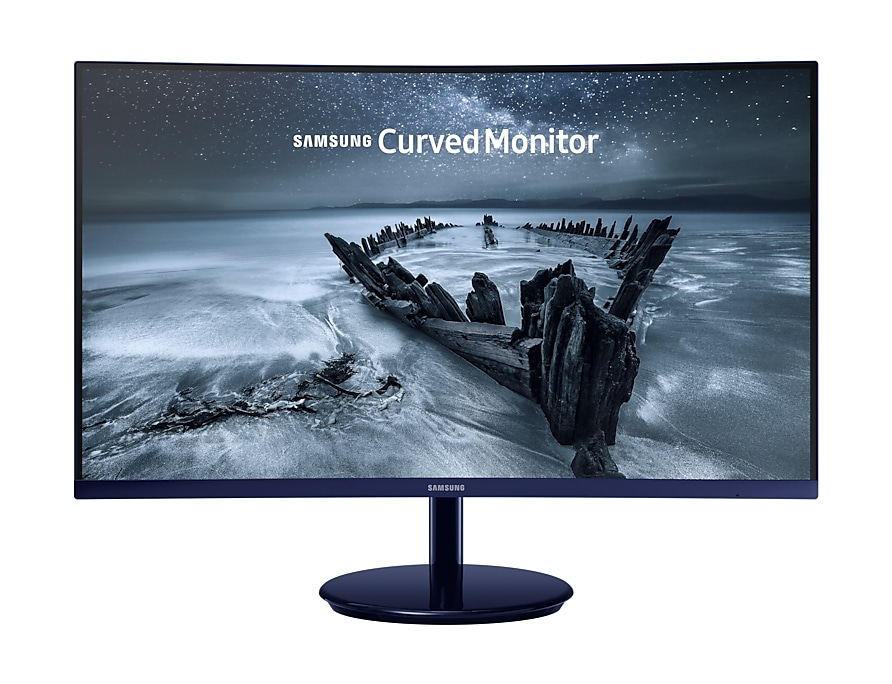 FHD Gaming Moniteur front blue arctic