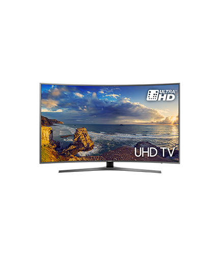 Curved UHD TV 6-Serie front black mist