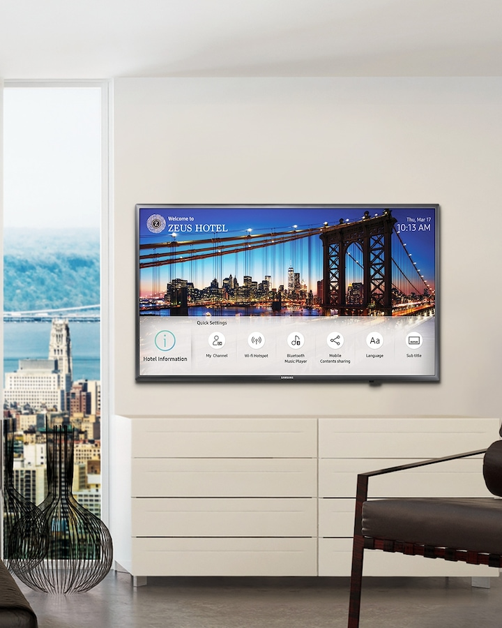 Samsung HF690 Displays plus pratique