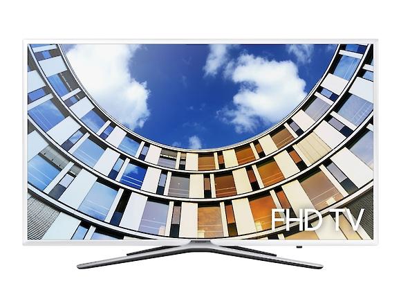 FHD TV UE43M5510 front white