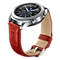 Gear S3 Leather Band Alligator Grain rouge