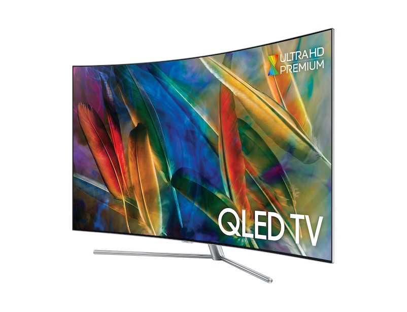 Curved QLED TV QE65Q7C r-perspective