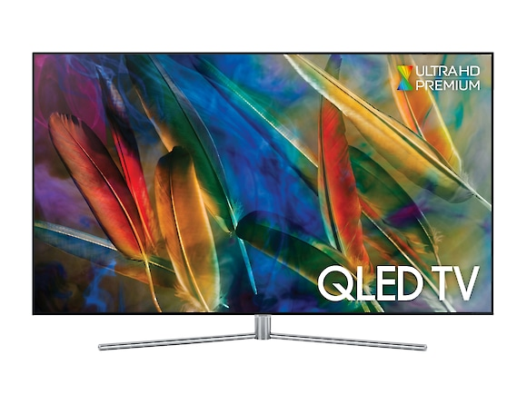 QLED TV QE75Q7F front black