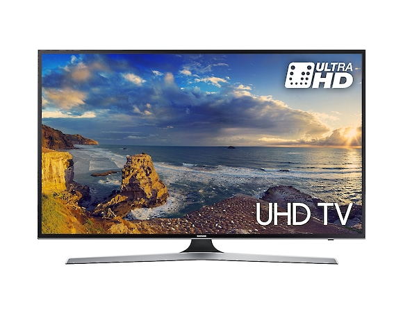 UHD TV UE75MU6100 front black