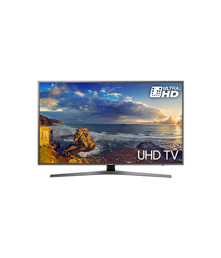 UHD TV UE40MU6470 front black mist