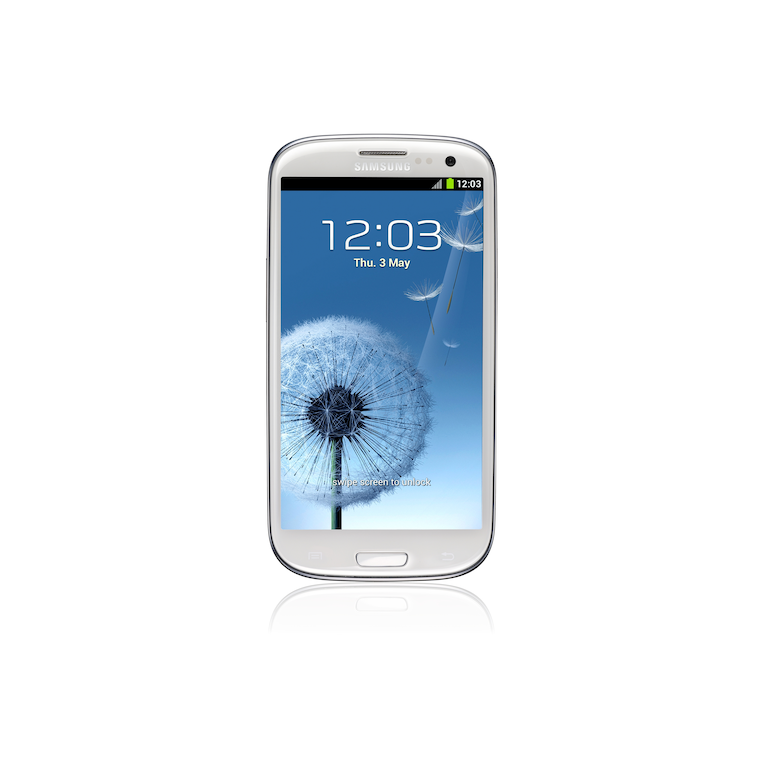 Galaxy SIII I9300 Android I9300 Front white