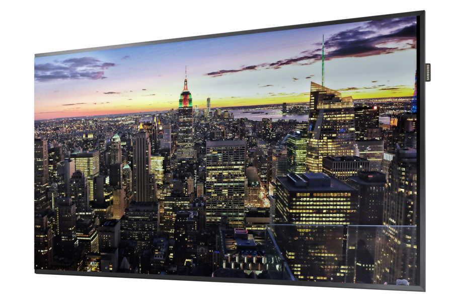 UHD Large Format Display  65 QM65F QM65F R Perspective black