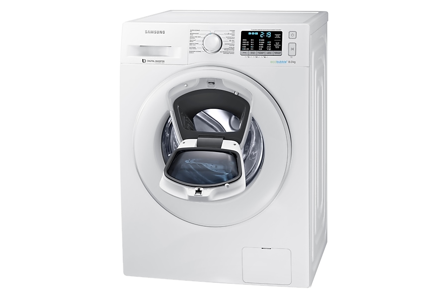 8kg addwash machine laver ww81k5400ww samsung. Black Bedroom Furniture Sets. Home Design Ideas