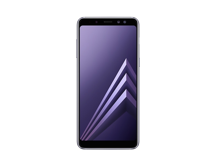 front-og gray galaxy a8 2018 samsung smartphone a530