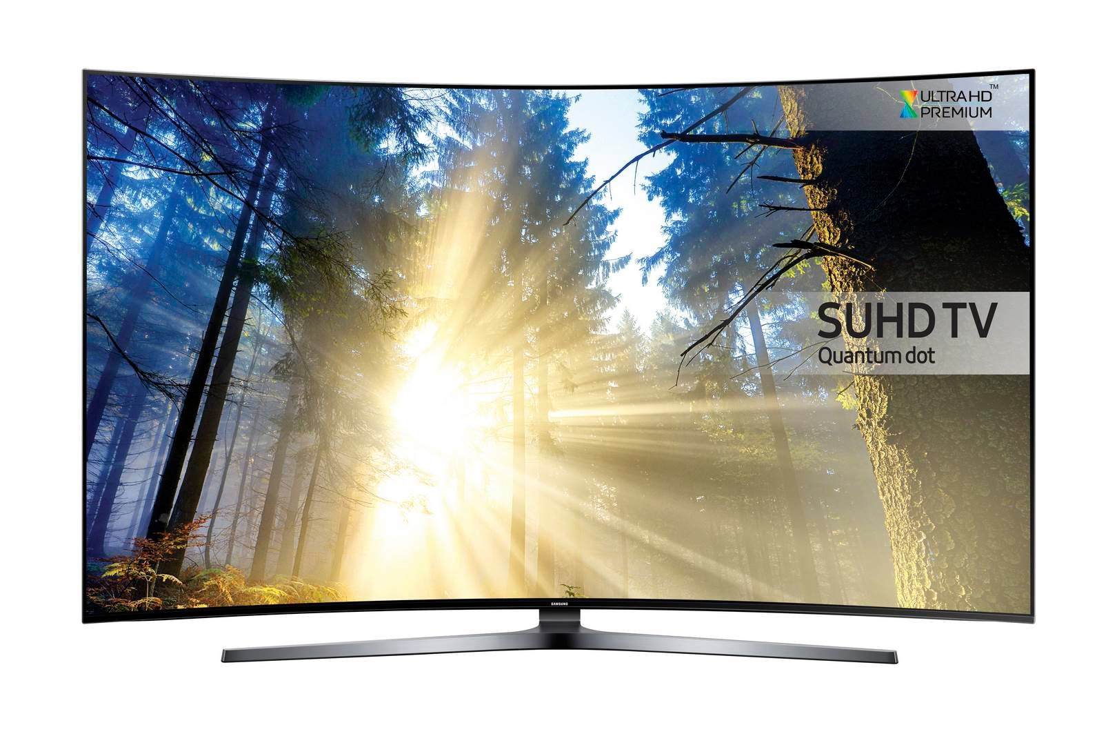9-Series Curved Quantum Dot SUHD TVUE65KS9500