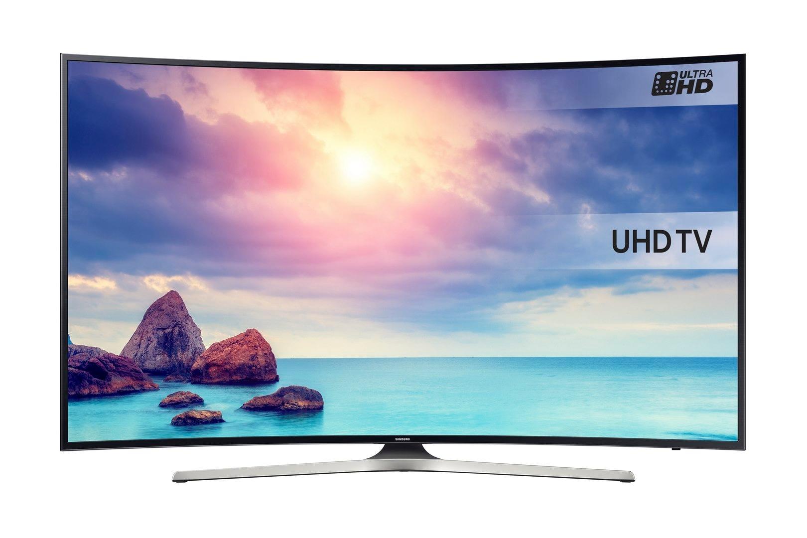 6-Series Curved UHD TV UE55KU6100