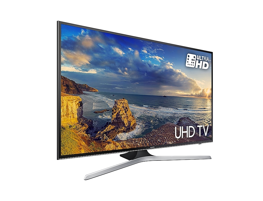 UHD TV UE43MU6100 l-perspective black