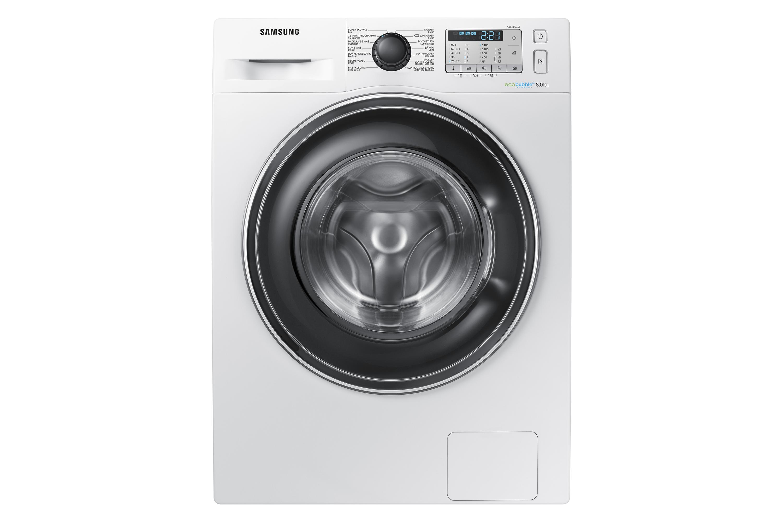 EcoBubble Wasmachine 8KG WW81J5555EA