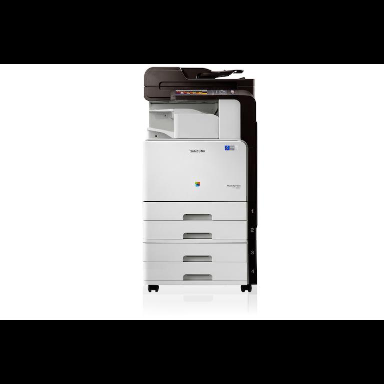 A3 Kleuren Multifunction CLX-9201NA 9201NA Front white