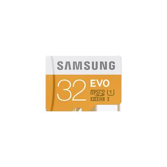EVO microSD Kaart incl. USB adapter