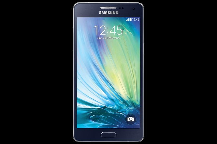 Galaxy A5 (2015) A500FU Voorzijde Zwart