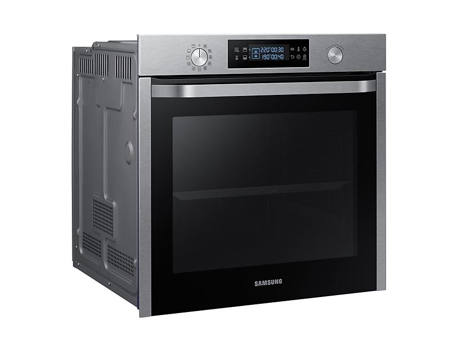 samsung four dual cook nv75k5541rs samsung. Black Bedroom Furniture Sets. Home Design Ideas