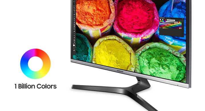 UHD Curved Moniteur Quantum dots