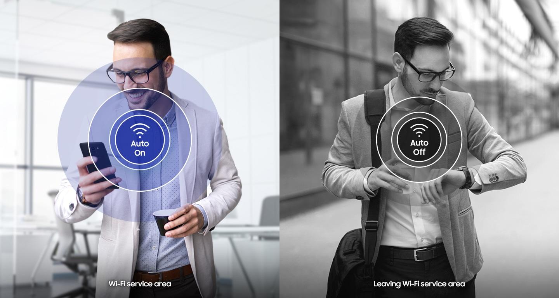 Activación simplificada de Wi-Fi