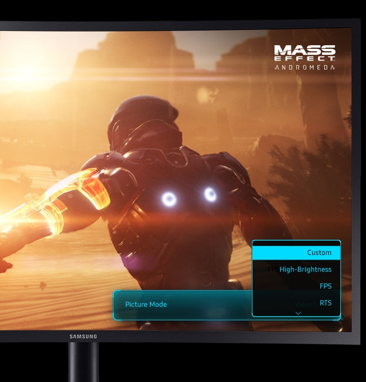 UHD Gaming Moniteur Multiple Game Modes