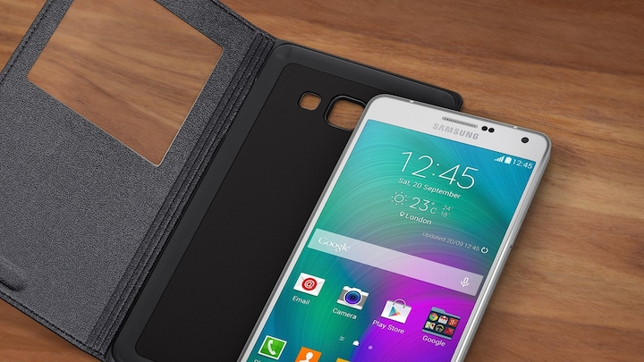 Protection supplémentaire - S View Cover GALAXY A7