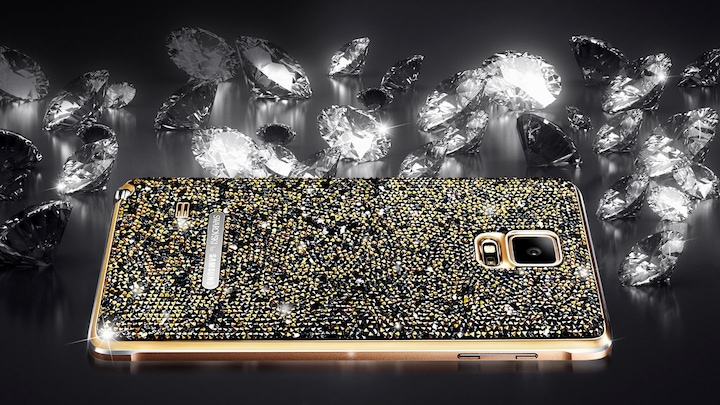 Swarovski Back Cover pour le GALAXY Note 4