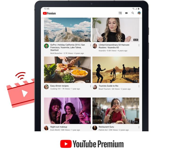 Essayez YouTube Premium
