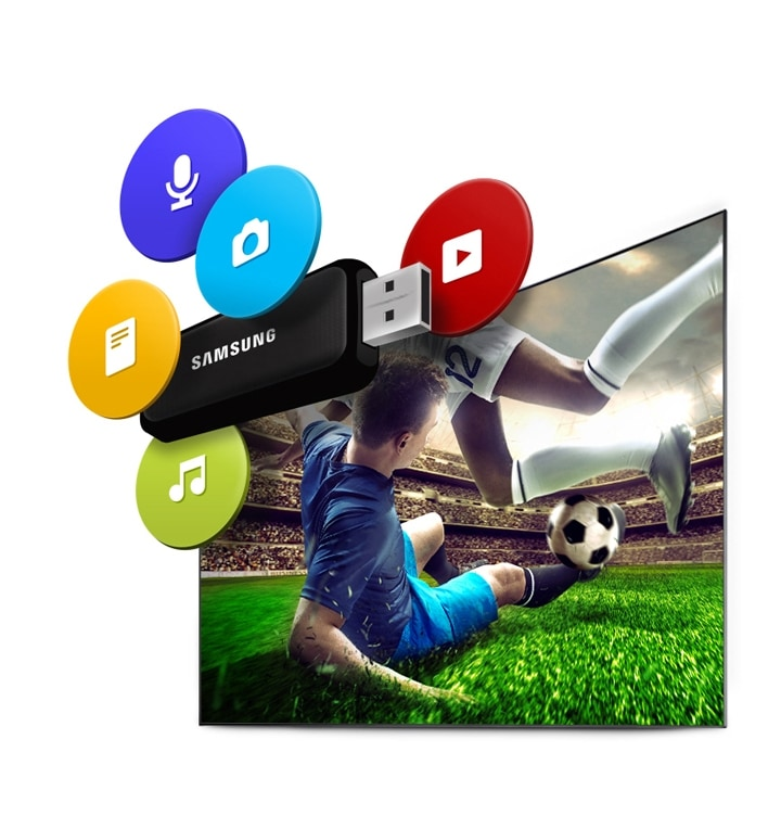 6-Series UHD TV UE49KU6450 Connectshare