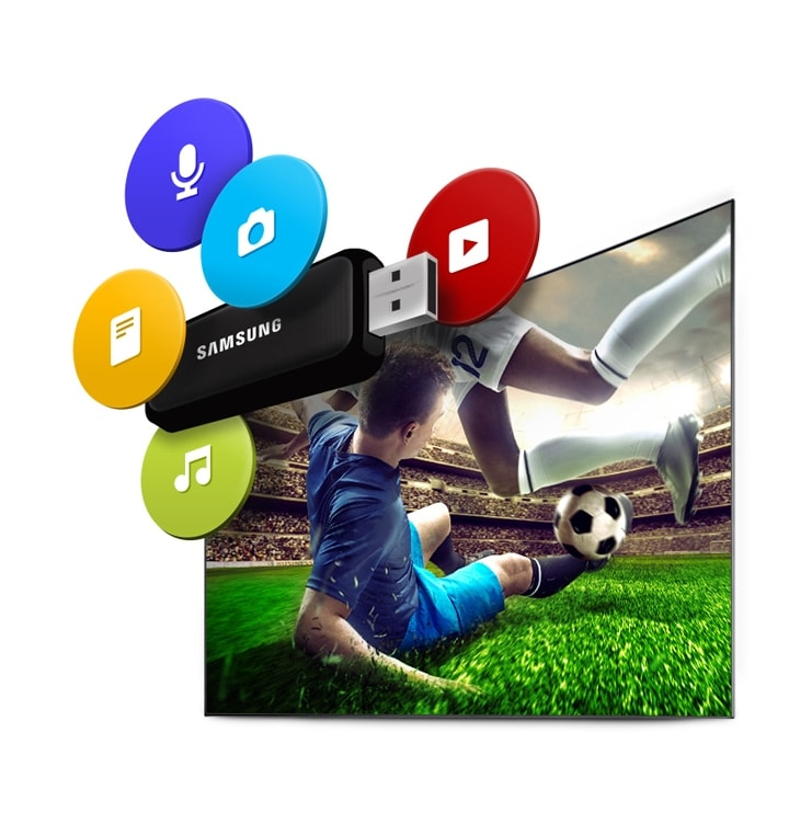 6-Series UHD TV UE49KU6640 USB