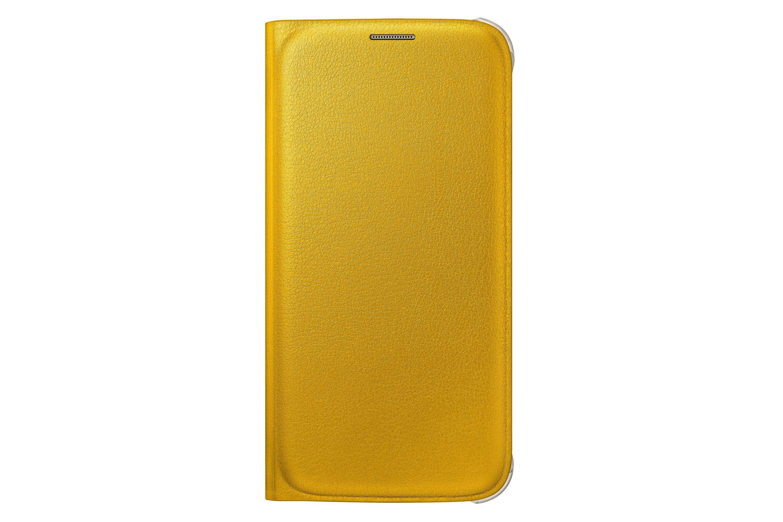 Flip Wallet Original Galaxy S6 Yellow