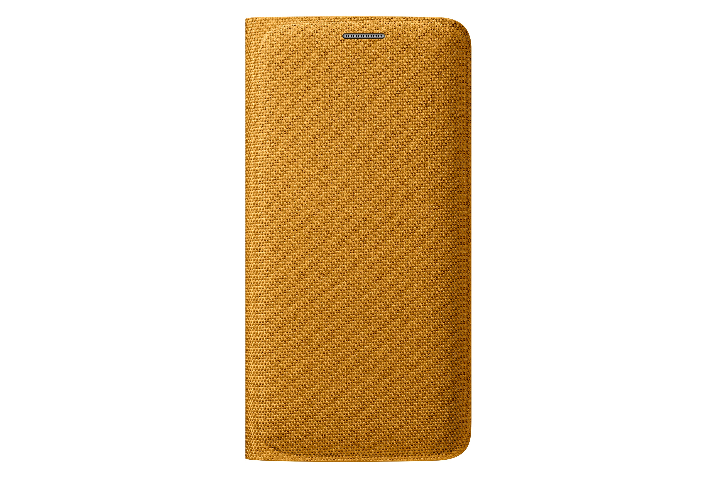 Flip Wallet Canvas Galaxy S6 edge Yellow