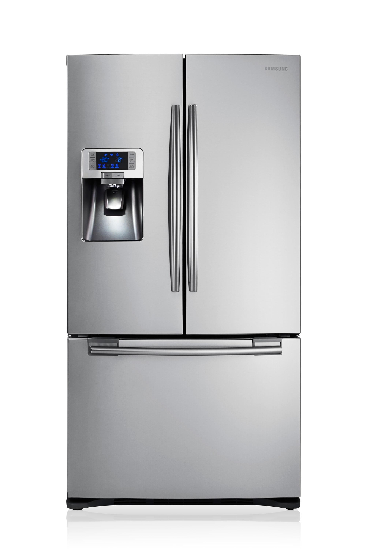 Refrigerateur Americain Faible Largeur samsung frigo french door (520l) rfg23uers | samsung