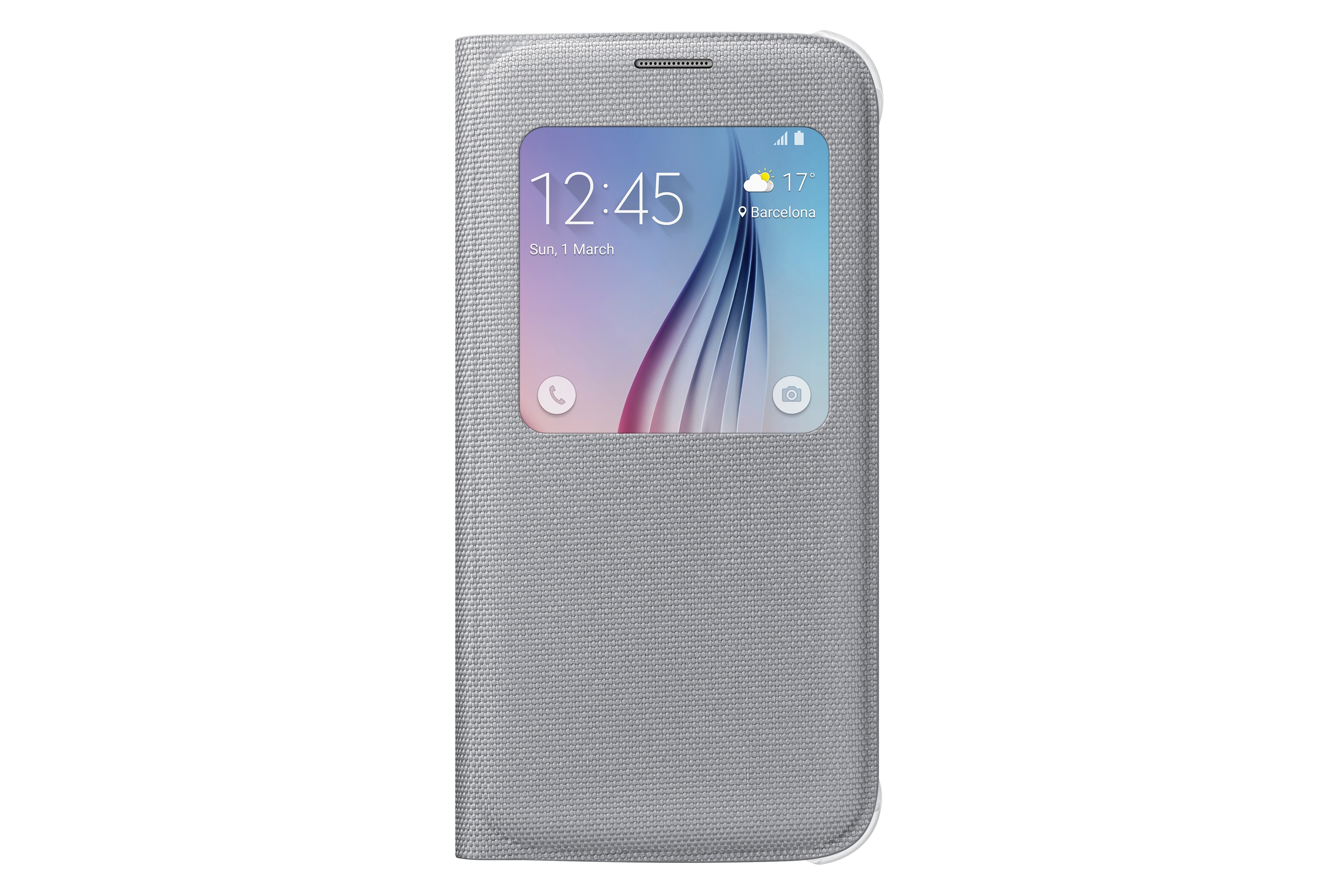 S View Cover Canvas Galaxy S6