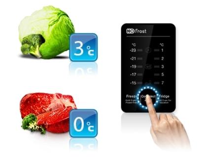 Съхранявайте месо или плодове и зеленчуци - Вие решавате