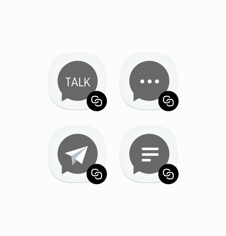Двойна програма за съобщения