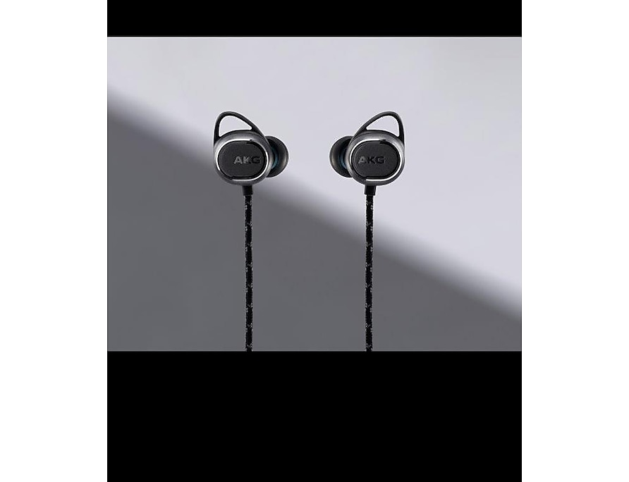 Samsung Fone Estéreo Bluetooth In Ear AKG N200 Lateral Preto GP-N200HAHHDAC