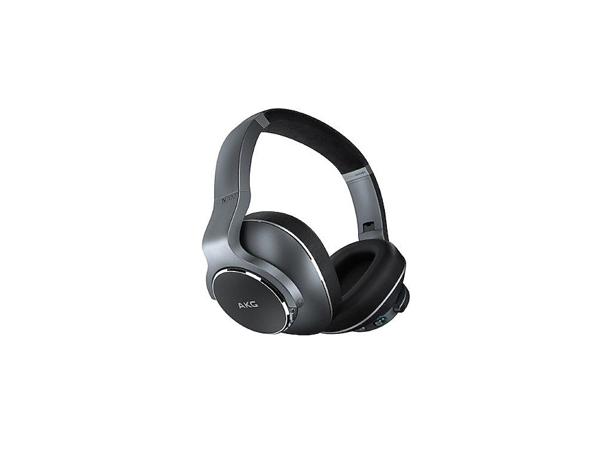 Samsung Fone Estéreo Bluetooth Over Ear AKG N700 NC Lateral 4 Prata GP-N700HAHCEAA