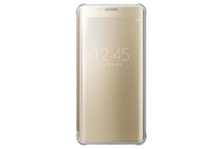 Capa Protetora Clear View Galaxy S6 edge+