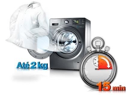 Lave as roupas mais rápido
