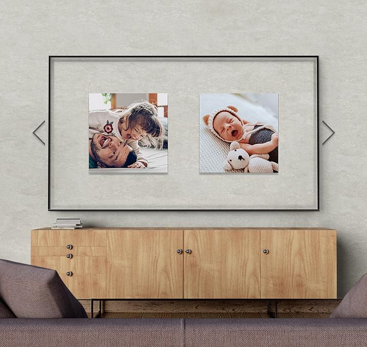 Transforme sua TV em uma galeria pessoal