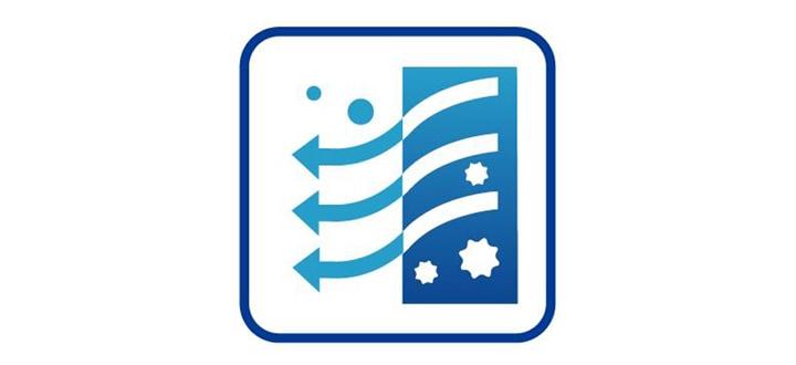 Símbolo demonstrativo da Tecnologia de Filtragem por carvão, que remove 99% de contaminantes potencialmente presentes na água.