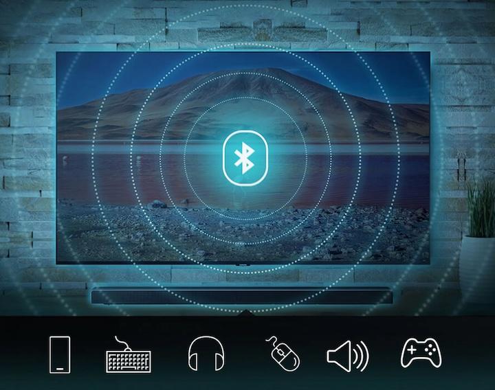Conexão sem fio entre sua TV e outros aparelhos