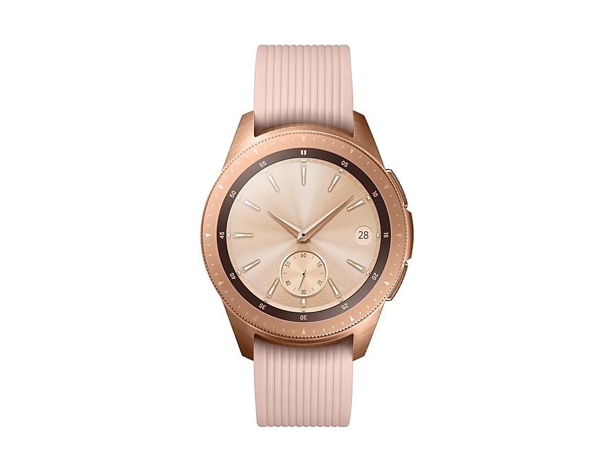 9d5071dd193 Samsung Galaxy Watch BT 42 Frente Dourado SM-R810NZDAZTO